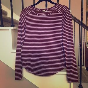 XS Melrose and Market Nordstrom Striped Top